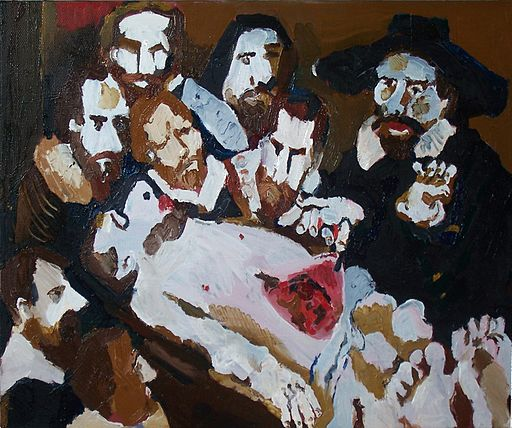 Ivan_Sakhnenko,_The_Anatomy_Lesson,_oil_canvas