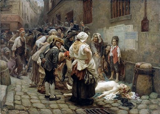 Death-of-the-Princess-De-Lamballe-by-Leon-Maxime-Faivre